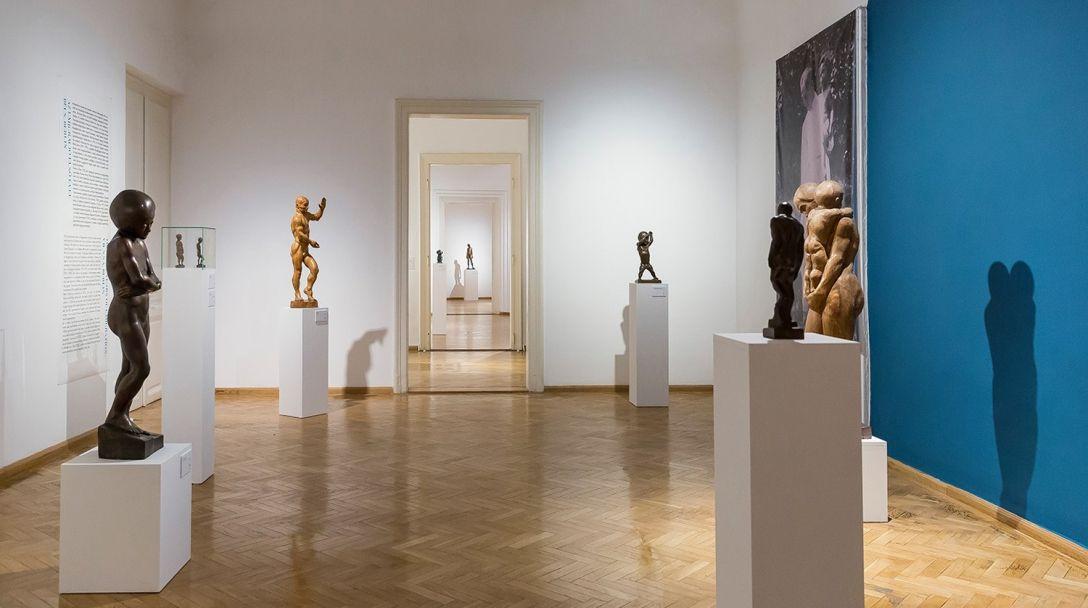 雕塑展会画册设计 飞特网 画册设计