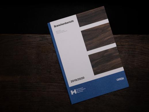 木地板木材厂画册设计