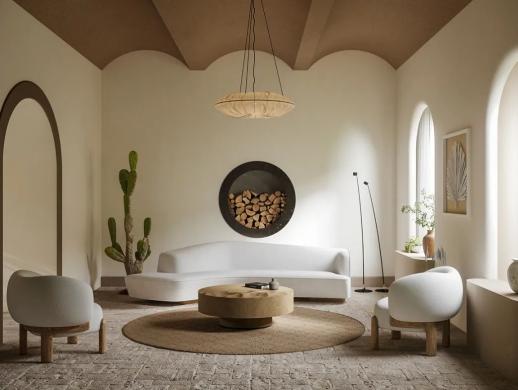 现代住宅  有意识的空间