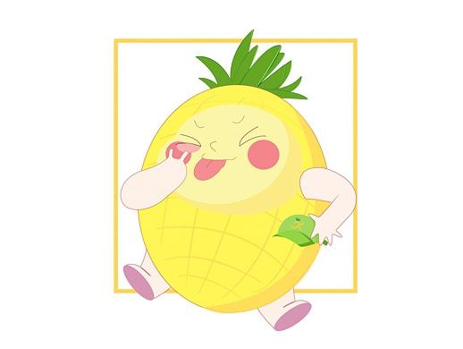 ip设计,水果店吉祥物设计