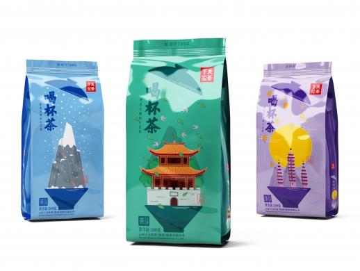 下关沱茶文旅茶系列化包装设计