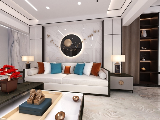 现代/新中式客餐厅设计