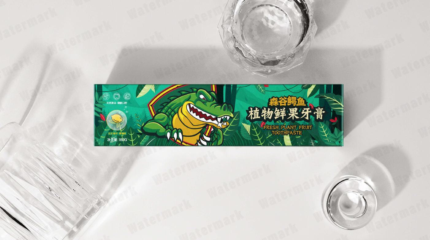 牙膏包装设计 飞特网 原创日用品包装设计