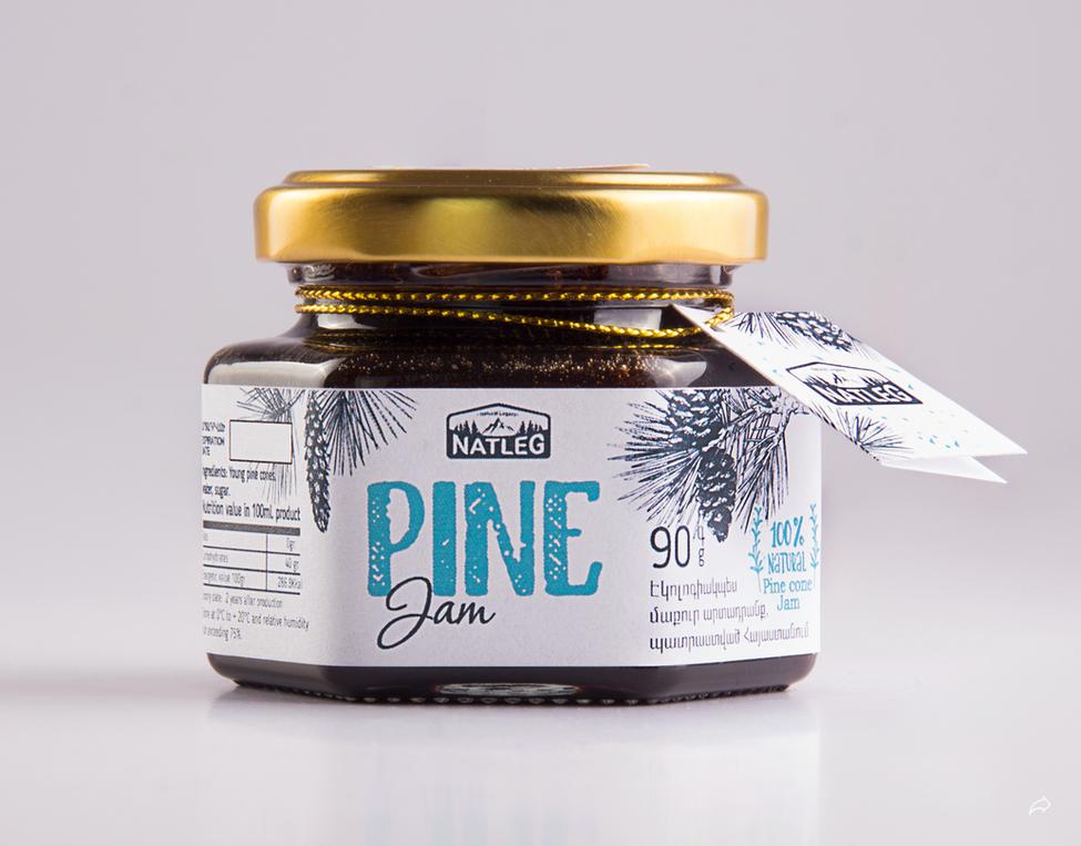 松花粉罐子包装设计 飞特网 保健品包装设计