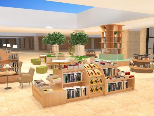 商城店铺室内工装效果图设计