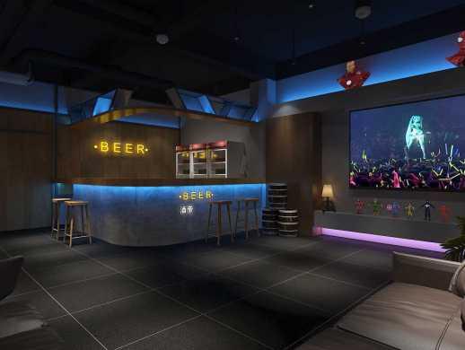 山与沉浸式推理俱乐部室内设计