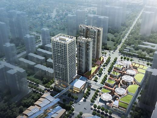 宝鸡东岭新天地ABC地块建筑外观设计