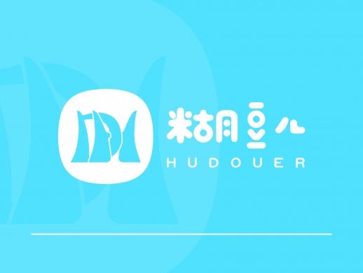 糊豆儿logo设计
