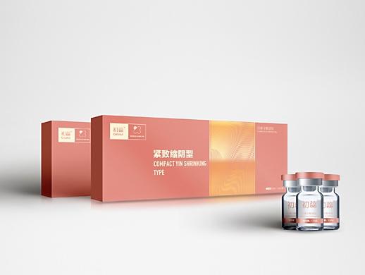 女性冷敷凝胶保健品包装设计