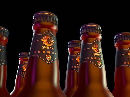 啤酒包装设计