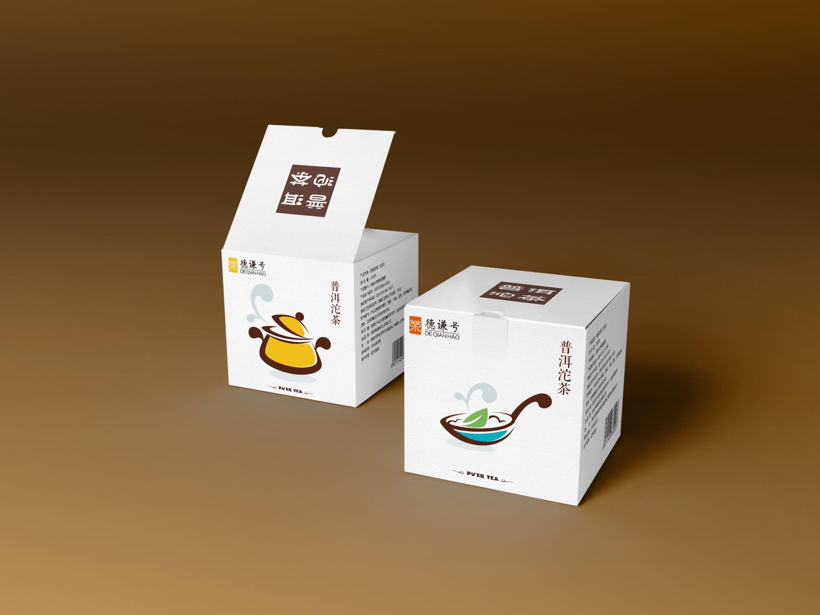 一套普洱茶沱茶包装设计 飞特网 原创茶叶包装设计