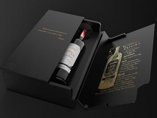 汇源红酒木盒设计