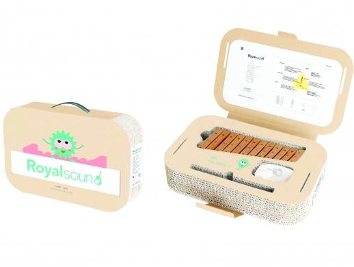 儿童乐器包装设计