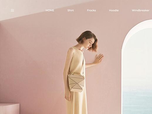 简约风格网站首页设计