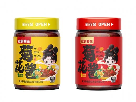 菊花酱食品包装设计