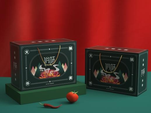 火锅外卖包装盒设计