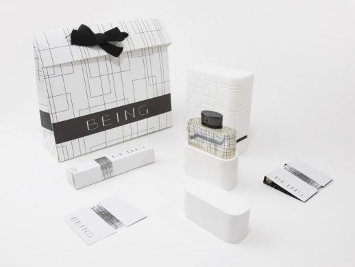 极简高端香水包装设计