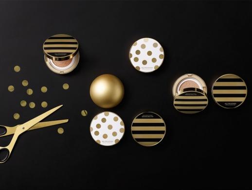 高大上金色化妆品包装设计