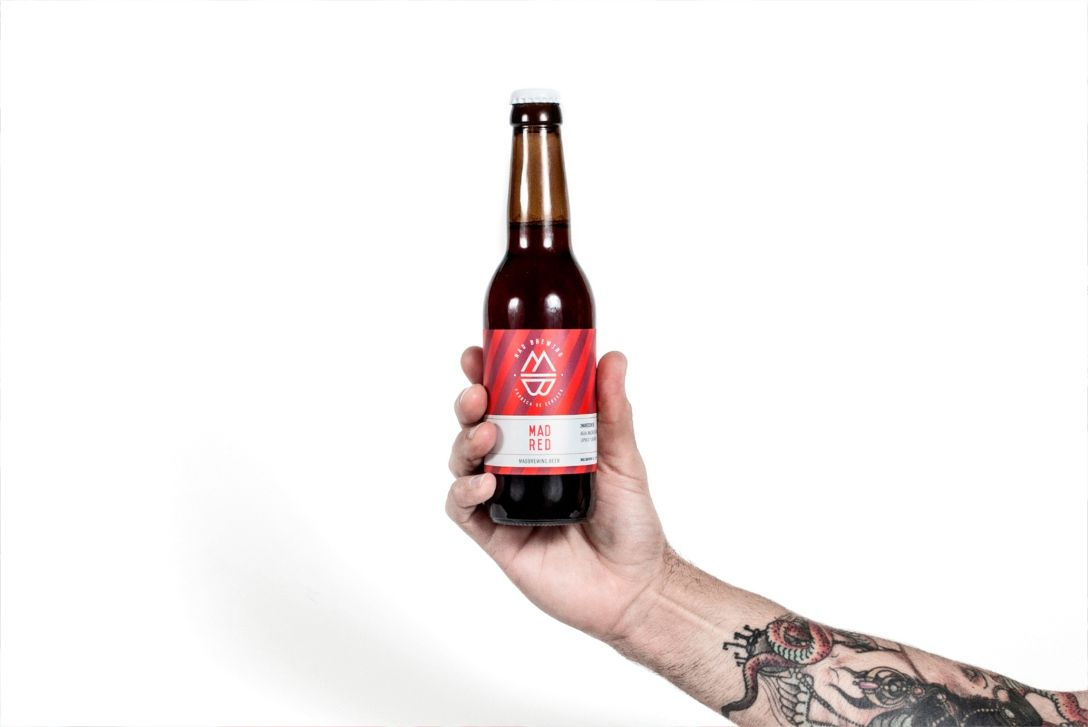 马德里手工啤酒品牌VI设计 飞特网 原创VI设计
