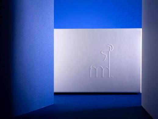 蓝色系餐厅标志设计
