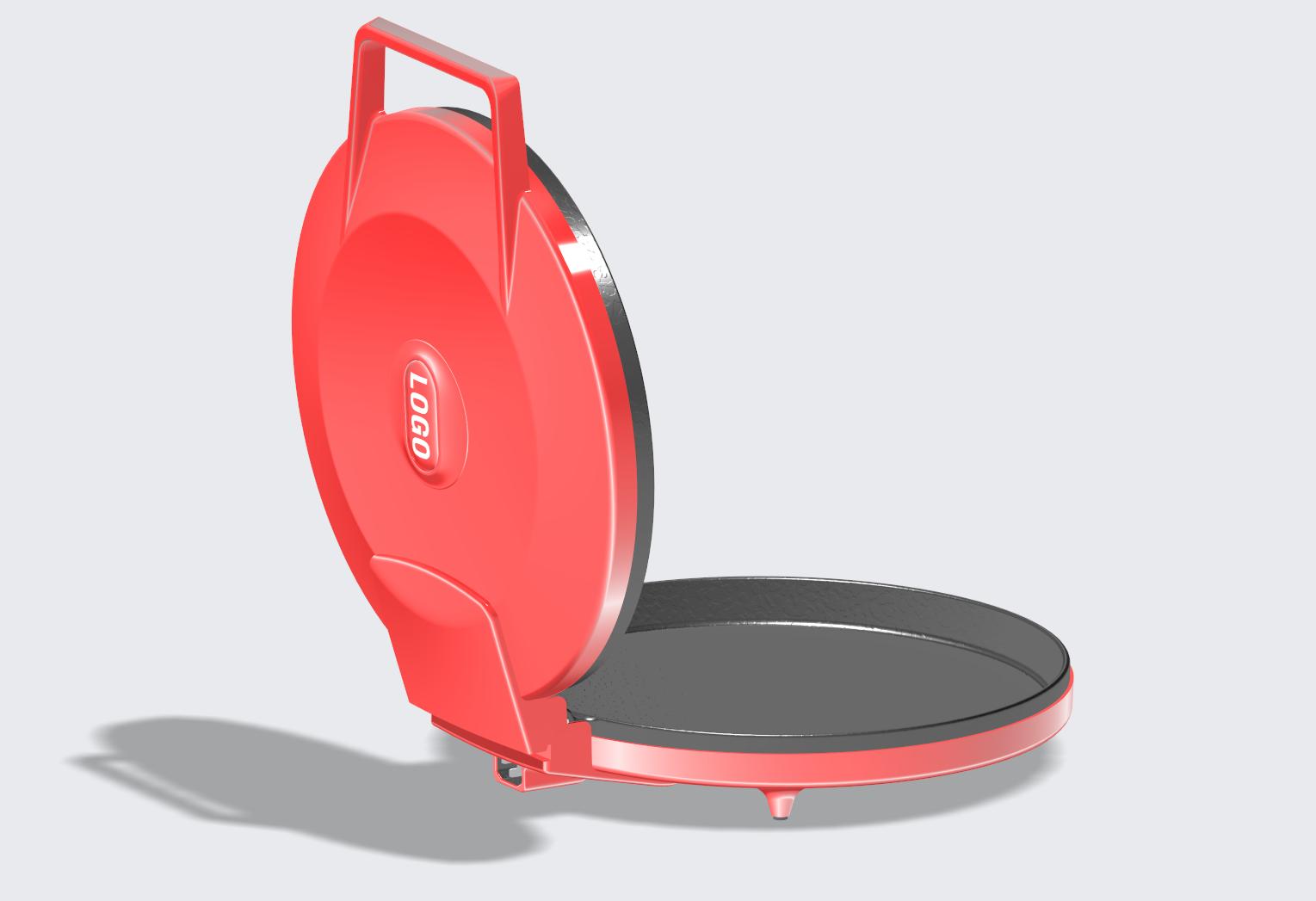 披萨机、电饼铛、煎饼机家电产品设计 飞特网 原创产品设计