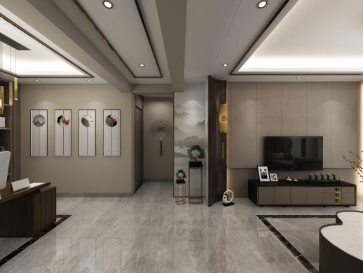 新中式室内设计案例