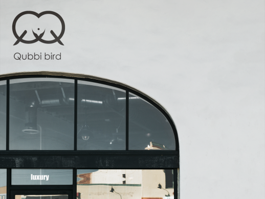 Qubbi bird标志设计