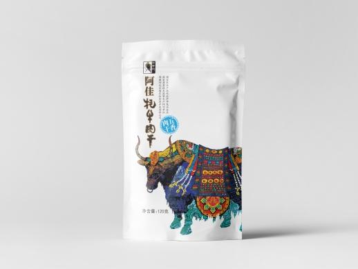 牦牛肉品牌包装形象设计