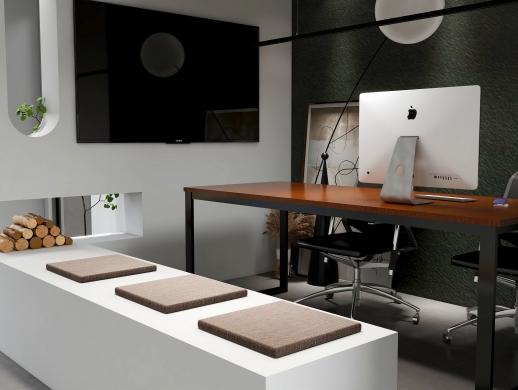简约黑白灰个人设计工作室空间设计