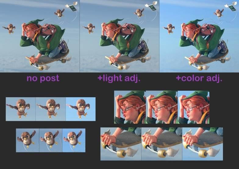 使用ZBrush、Maya、Arnold创建一个巫师学徒(2) - 瑞云渲染