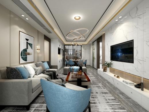 轻奢空间室内设计