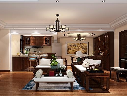 现代中式室内设计