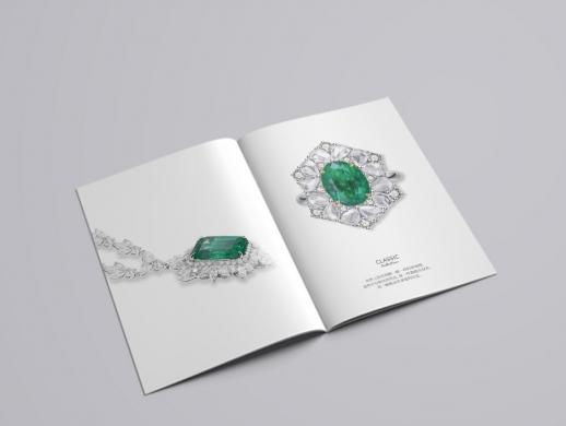 珠宝产品手册设计
